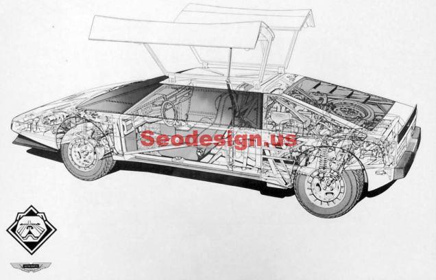 Cute Classic Sport Cars illustrations