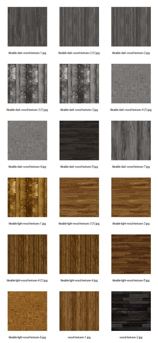 Clean Tileable Wood Backgrounds