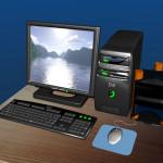 Cute 3D Desktop Computer Models