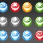 54 Glossy Push Icons