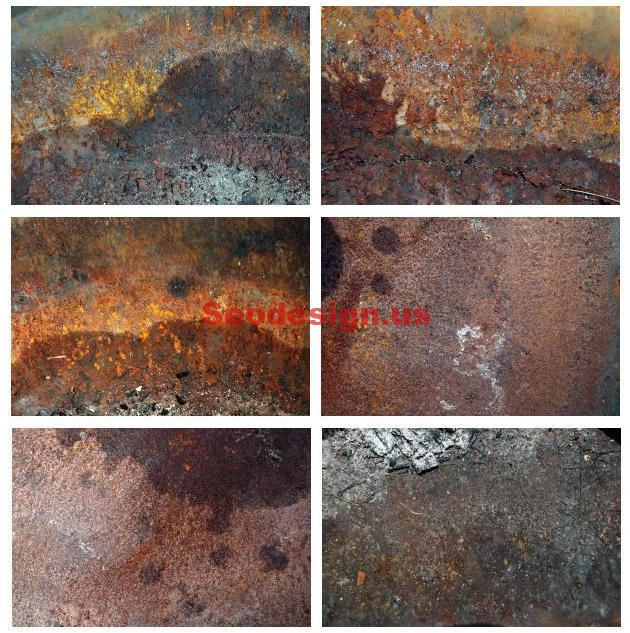 10 Grunge Rust Textures Free Download