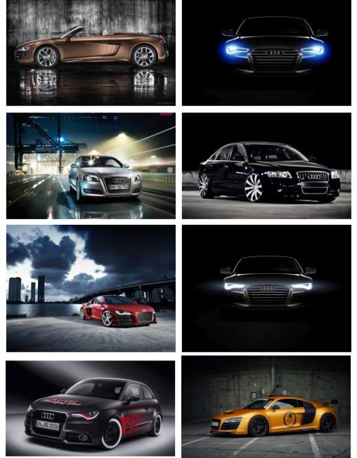 Abstract Audi HD Wallpapers