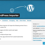 Import and Export Custom Post Types