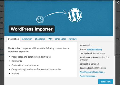 Import and Export Custom Post Types - Wordpress