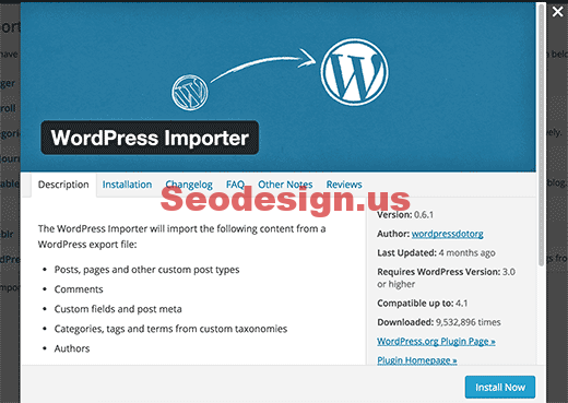 Import and Export Custom Post Types - Wordpress