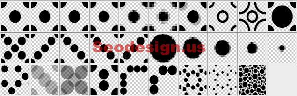 Grunge Dot Photoshop Patterns Download