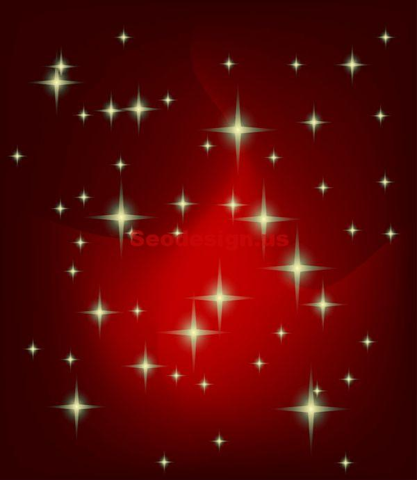 Cute Stars 3D Vector Graphic