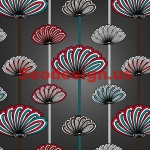 Free Flower Fields Photoshop Pattern