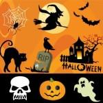 9 Halloween Vector Design Elements Graphics