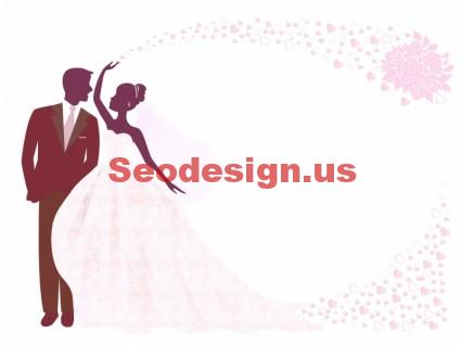 Pinky Free Wedding Vector Silhouette
