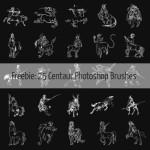 20+ Free Centaur Photoshop Brushes