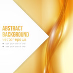 10 Abstract Vector Yellow Backgrounds