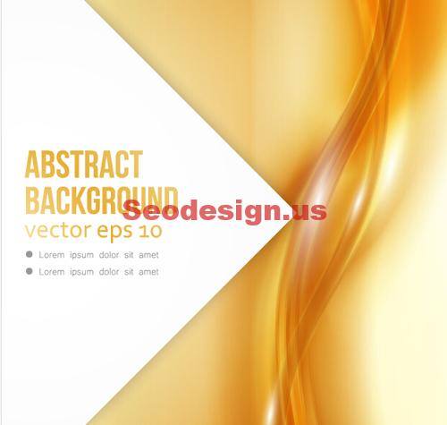 Abstract Vector Yellow Backgrounds