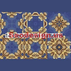 Blue Decorative Photoshop Patterns