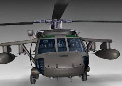 Free Blackhawk Helicopter 3D Model