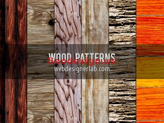 6 Wood Patterns
