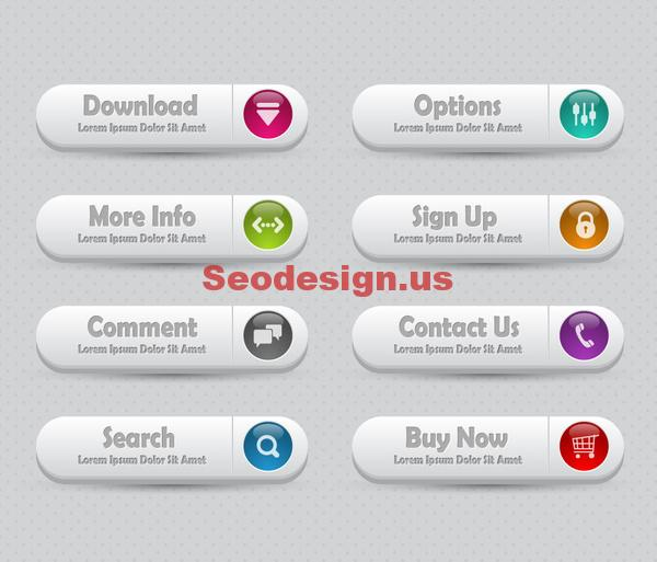 Commercial Web Buttons Download