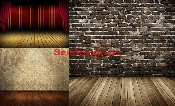 Concrete Wood Walls Patterns