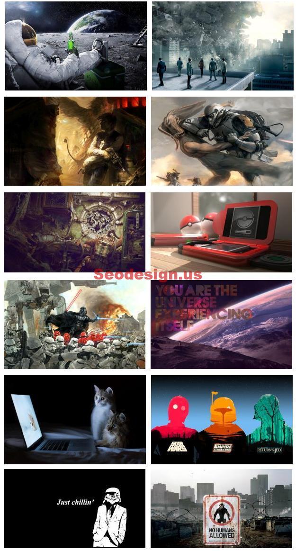 Free Grunge Fun Geek HD Wallpapers Download