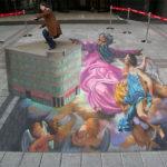3D Graffiti Street Illustrations #Monday Inspiration
