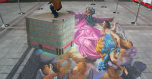 3D Graffiti Street Illustrations