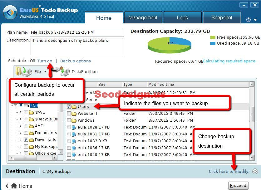 EaseUS Data Recovery Software Wizard Free 11.0 version