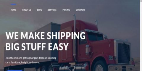 10+ Premium WordPress Logistics Themes for Transportation Business 2017
