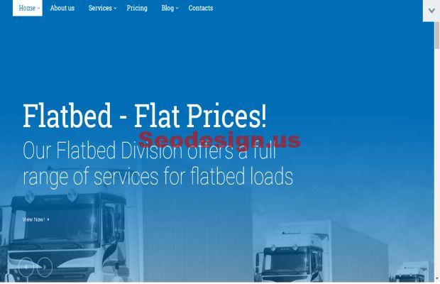 Odyssey - Transportation, Trucking & Logistics WordPress Theme